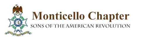 Monticello Chapter – Sons of the American Revolution Logo